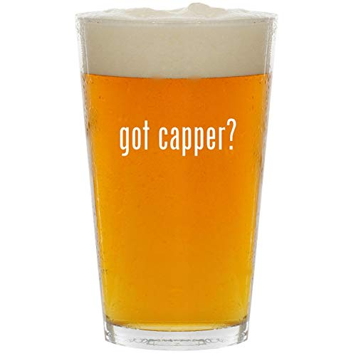 (got capper? - Glass 16oz Beer Pint)