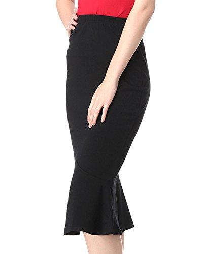 Kenancy - Jupe - Femme Noir