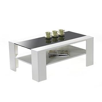 Ilert Adventure Tisch Couchtisch 110 Cm Mit Schwarzglas Einlage Esg
