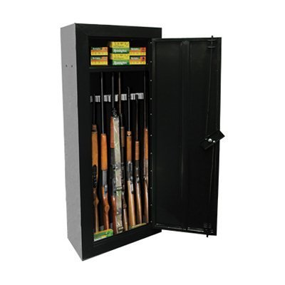 Homak HS30120080 8-Gun First Watch Steel Security Cabinet, Black