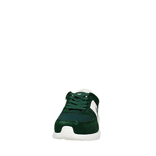 Ralph Lauren - Zapatillas de Deporte de Piel Vuelta Hombre Verde