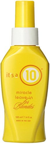 it's a 10 Miracle Leave-In Conditioner for Blondes 4 oz (Pack of 12) by It's a 10