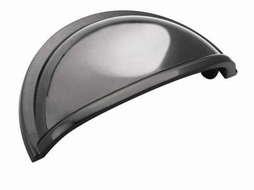 - AMEROCK Allison Kitchen Cabinet Handle C.C. 3'', Pull Black BP53010-BN