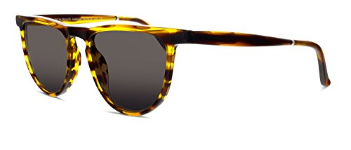 Smoke X Mirrors Beep Unisex Sunglasses SM155 Based in New York City, Handmade in France (Tortoise, - City New York Sunglasses