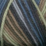 Plymouth Encore Worsted Colorspun Yarn (1-Pack), 7653 Denim Mix ()