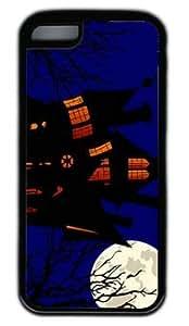 CSKFUHalloween Evening House DIY Rubber White iphone 6 5.5 plus iphone 6 5.5 plus Case On Custom Service