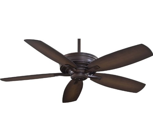 60 Kafe 5 Blade Ceiling Fan with Handheld Remote - Finish: K