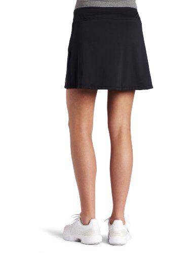 Skirt Sports Gym Girl Ultra Skirt with Athletic Shorts, Black, Medium