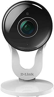 Câmera de segurança, Full-HD , Wi-Fi com Visão Noturna, slot para cartão SD, D-link, DCS-8300LH, Branca , Comp