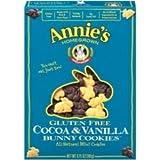 Annie's Gluten Free Cocoa & Vanilla Bunny Cookies 24x 6.75Oz