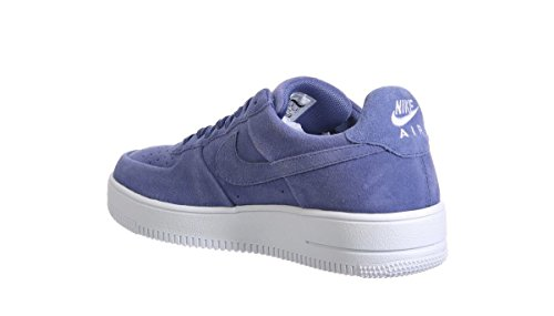 ... Nike Air Force 1 Ultraforce Faible Mens Bleu Baskets De Basket-ball De  La Lune ...