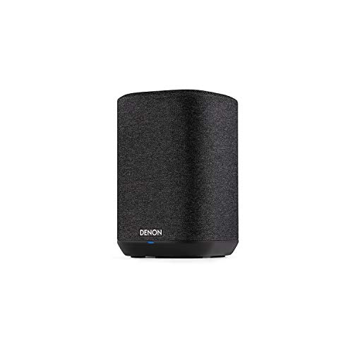Denon Home 150 Wireless Speaker (2020 Model)   HEOS Built-in, AirPlay 2, and Bluetooth   Alexa Compatible   Compact Design   Black