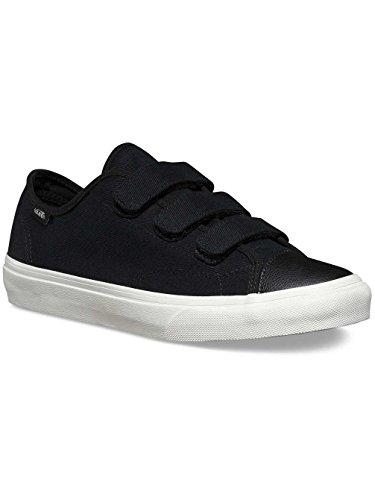 Vans Unisex Shoes Prison Issue Black/ Off White Fashion Sneaker (8.5 Men/ 10 Women)