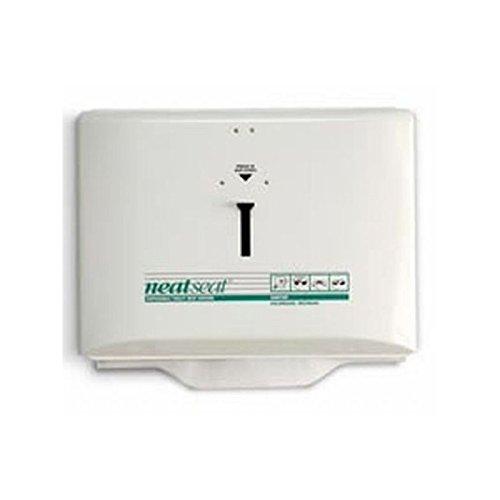 Hospeco Neatseat Toilet Seat Cover Dispenser, White , 1 Each by Hospeco