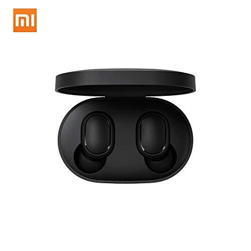 Xiaomi Mi True Wireless Earbuds Basic Bluetooth In-Ear Kopfhöhrer für iOS/Android (Freisprechfunktion, Musiksteuerung, Sprachassistent, 4 Std Wiedergabezeit, Aufbewahrungsbox mit Ladefunktion) Schwarz