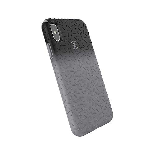 Latest Speck Products CandyShell Fit iPhone Xs Max Case, Black Ombre Gunmetal/Gunmetal Grey