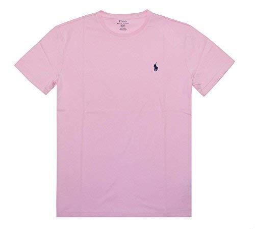 Polo Ralph Lauren Men's Crew Neck T-Shirt (XX-Large, Carmel Pink)