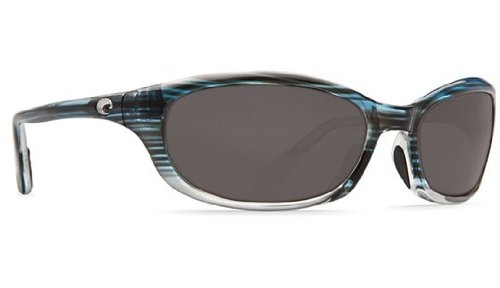 Costa Del Mar Sunglasses - Harpoon- Glass / Frame: Topaz Fade Lens: Polarized Gray Wave 580 Glass (580 Glass Wave Lens)