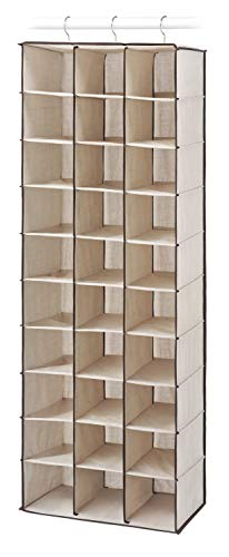 30 Section Hanging Shoe Shelves