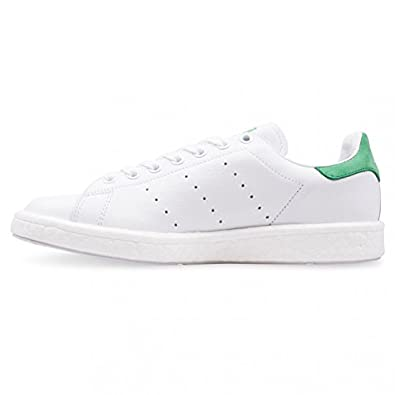 premium selection 2ac0a f54e2 adidas Men Stan Smith Boost (White/Footwear White/Green)