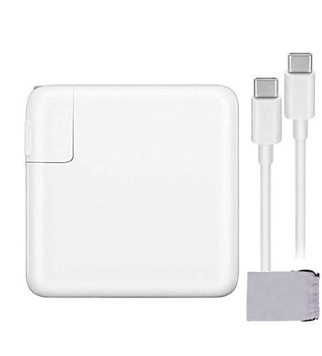 🥇 87W USB C Charger Power Adapter for MacBook Pro 15 Inch 13 Inch MacBook 12Inch MacBook Air iPad Pro 2018 2019 Include Charge Cable