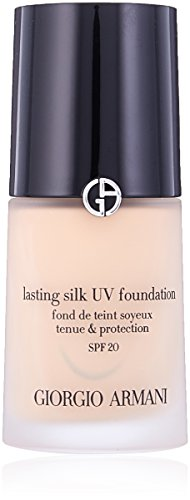 - Giorgio Armani Lasting Silk UV Foundation SPF 20, No. 4 Light Sand, 1 Ounce