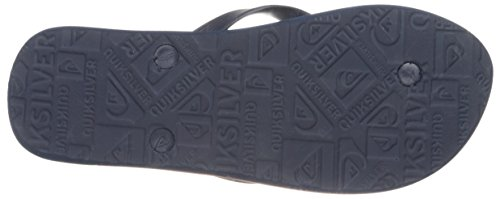Quiksilver Mens Molokai Slab Lapu Sandal Blue/Blue/Orange XhHfFk