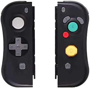 Joy Con para Nintendo Switch, SADES Joy Con (L-R) Controlador inalámbrico Compatible con Nintendo Switch Consola Interruptor Controlador remoto Gamepad - Negro: Amazon.es: Videojuegos