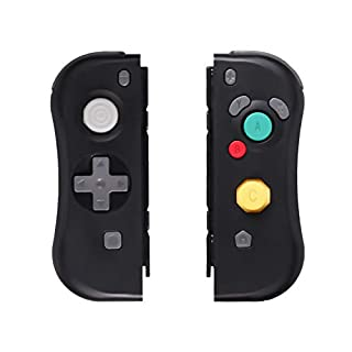 Wireless Joy-Con for Nintendo Switch, SADES C800 Joy Con (L-R) Wireless Controller Compatible with Nintendo Switch Console Switch Remote Controller Gamepad - Black