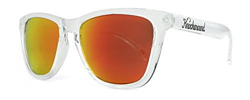 Knockaround Classics Non-Polarized Sunglasses, Clear / - Knockaround Sunglasses