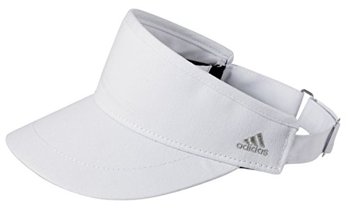 [Adidas Golf Men's Performance Moisture-Wicking Visors Set_Black & White_OS] (Adidas Sport Performance Buckle)