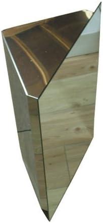 ミラーキャビネット ステンレス 洗面収納 [幅38×高65cm] 650
