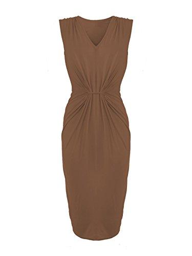 Envy Boutique - Vestido - para mujer moca