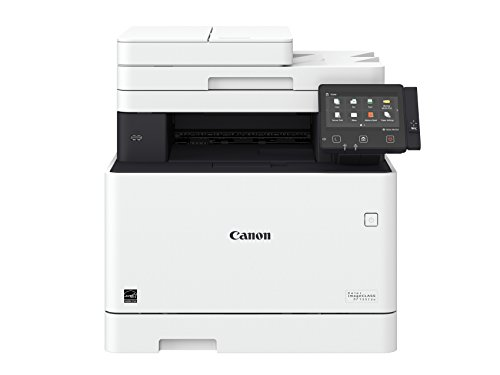 Canon Color imageCLASS MF733Cdw - All in One, Wireless, Duplex Laser Printer (Comes with 3 Year Limited Warranty) (Best Small Office Color Laser Printer Scanner)
