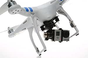 Qiyun New DJI Phantom 2 with Zenmuse H3-3d 3-axis Gimbal and Gopro Hero 3+ Black Edition