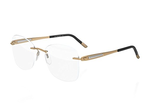 Silhouette Eyeglasses Sparkling Finesse (MATTE GOLD)