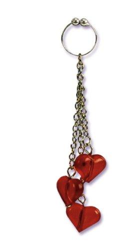 California Exotics Asian Hearts Navel Ring