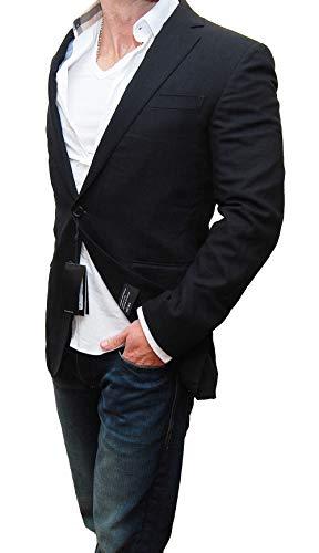 (Ralph Lauren Polo Black Label Mens Blazer Sport Coat Wool Italy 42L)