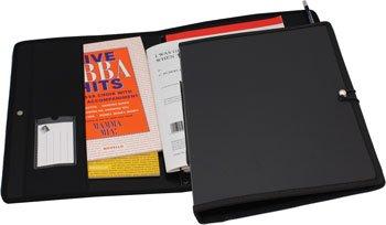 Mapac MP11630-BK Music Folder for Choral Singers, Black