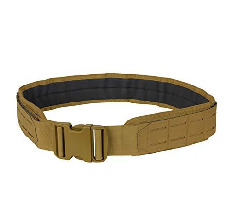 MH GLOBAL Molle Pals Nylon Padded Medium Coyote Tan LCS Gun Belt HD Tactical 2 Belt System
