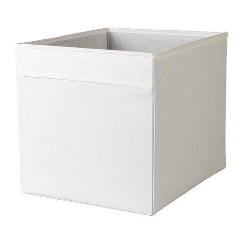 Ikea Foldable Storage Box, White