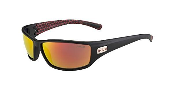 Bollé Python Gafas de Sol Matte Smoke/Rosso Talla:Medium: Amazon.es: Deportes y aire libre