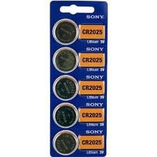 Sony CR2032 Lithium Coin 100 Batteries - Sony Cell Coin Lithium