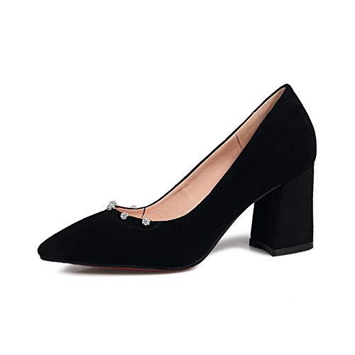 APL11125 Shoes Black Business Urethane BalaMasa Travel Pumps Womens Solid Bwg0F