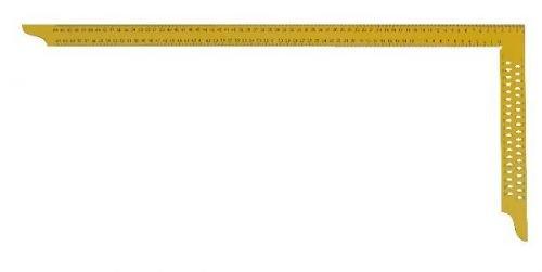 Zimmermannswinkel hedue ZY 1000 mm mit mm-Skala und Anreißlöcher