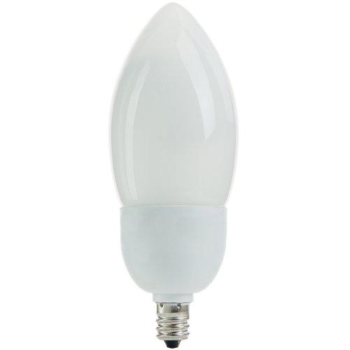 Torpedo Tip Energy Saving CFL Light Bulb, 7 Watt, Medium (E26) Base, 27K - Warm White,