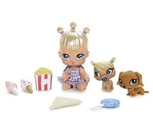 Bratz Lil Angelz Cloe #783 Sticky Face Fun Fair Set with Pony #785 & Daschund Puppy #787 ~ Numbered Collector Series