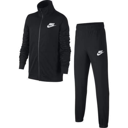 B Nsw Track Nike Survêtement Black black white Poly Suit Garçon ZHqc1v7R