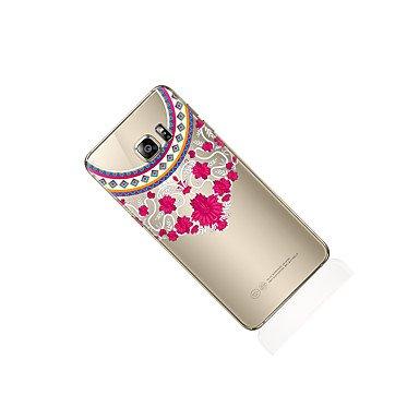 Casos hermosos, cubiertas, Para samsung galaxia s8 s8 más caja del teléfono patrón transparente patrón de impresión del cordón suave tpu para Samsung galaxia s7 ( Modelos Compatibles : Galaxy S4 ) Galaxy S6 Edge Plus