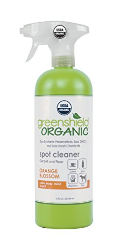 Greenshield Organic USDA Certified Organic Carpet and Floor Spot Cleaner, 32 Oz. (Pack of 6) by GreenShield Organic